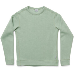 Houdini Alto Crew Sweater i uld Damer, grøn